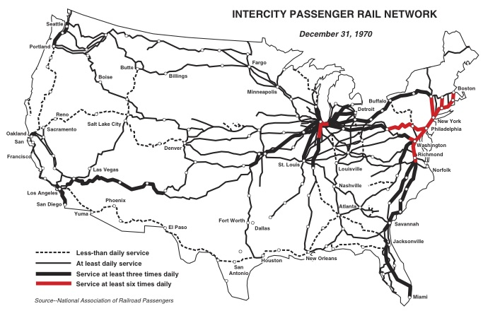 National Rail Maps From National Assocation Of Rail Passengers