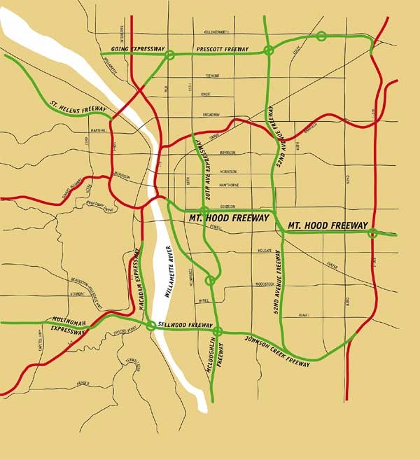 Portland Oregon WwwPeakTrafficorg Peak Traffic And - Map of oregon highways