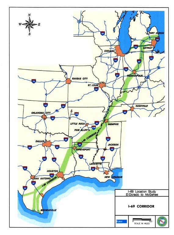 Interstate 69 Arkansas Map.Www Peaktraffic Org