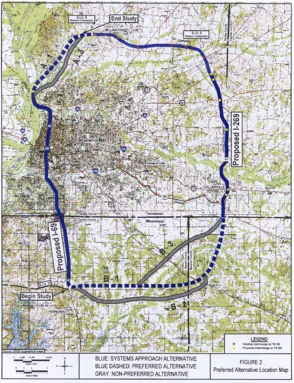 I 69 Tennessee Map.Www Peaktraffic Org